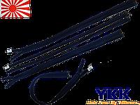 Молния спираль YKK 70cm 058 т.синяя 1бегунок разьемная
