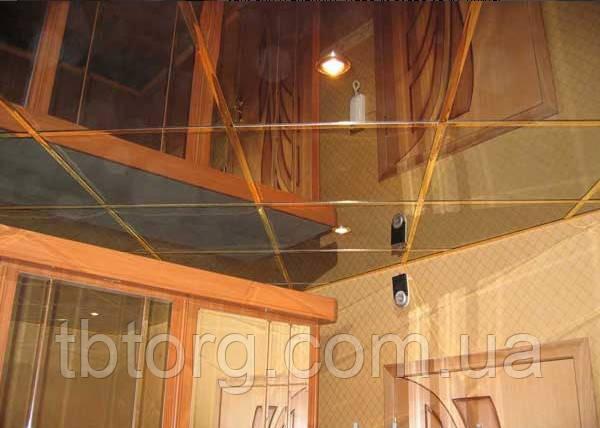 Зеркальная отделка потолка