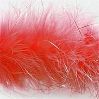 Боа пух, D 6-7 см красный