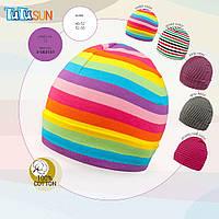 Детская шапка  из новой коллекции TuTu-Sun арт. 3-003101
