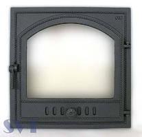 Каминная дверца герметичная SVT 405(правая)
