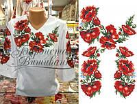Бисерные заготовки женских блуз для вышивания бисером