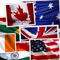 Флаги Стран Мира (Аппликация)