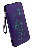 """Сумка чехол для мобильного телефона - бабочка лак """"La Fleur"""""""