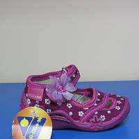Текстильная обувь для девочки Польша Viggami р.24,26(15см,16см стелька)