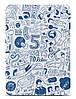 "Незаменимый чехол для планшета 9.7"" OZAKI O! coat-Relax 360° iPad Air/Air 2 (Blue) OC113BU*"