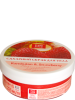 """FJ"" Сахарный скраб для тела Rambutan&Strawberry 225мл"