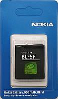 Аккумуляторная батарея High Copy для телефона Nokia N93i   950mAh  (BL-5F, BL5F)