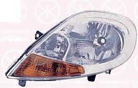 Фара левая с желтым поворотником RENAULT TRAFIC  00-14 (РЕНО ТРАФИК), фото 1