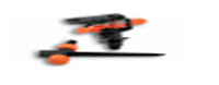Фрегат - ороситель пластиковый пульсирующий на ножке