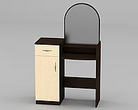 Трюмо для спальни с зеркалом  (Трюмо-1 Компанит)