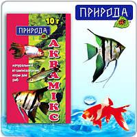Природа Корм для рыб Аквамикс