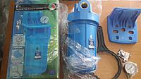 """Высокопроизводительный натрубный корпус для холодной воды типа """"Big Blue"""" 1"""" - FH10B1-B-WB Aquafilter (Польша)"""