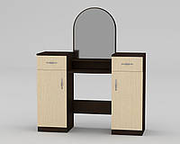Трюмо-2 для спальни с зеркалом  (Трюмо-2 Компанит)