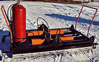 Инфракрасный нагреватель  для ремонта дорог Мира 4