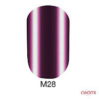 Гель-лак Naomi Metallic Collection M28, 6 мл