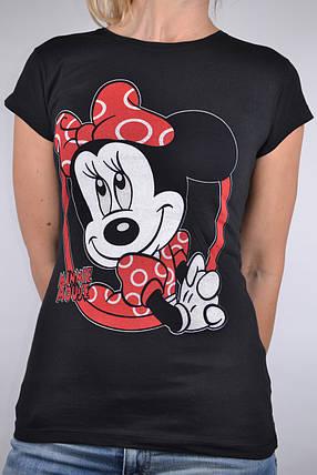 Футболка Minnie Mouse Черная (W864/19) | 4 шт., фото 2