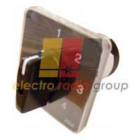 Перемикач пакетний типу ПкП Е9 16А/2,833(1-2-3 вибір фази)
