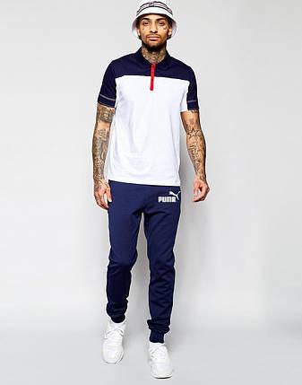 Мужские спортивные штаны с принтом Puma, фото 2