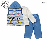 Костюм-тройка Mickey Mouse для мальчика. 1 год