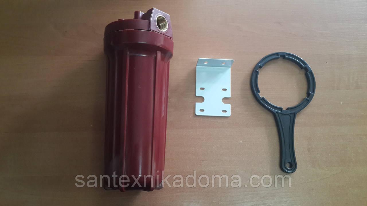 """Корпус фильтра для гарячей воде Aquafilter 3/4"""" - WF-HOT-10 34  (Польша)"""