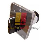 Перемикач пакетний типу ПкП Е9 16А/2,832(1-0-2 2 полюса)