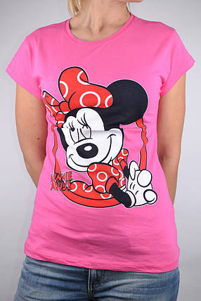 Футболка Minnie Mouse Розовая (W864/20) | 4 шт., фото 2