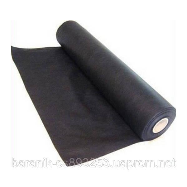 Черный спанбонд 50г/м.пог ширина 1.6м