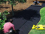 Черный спанбонд 50г/м.пог ширина 1.6м, фото 3