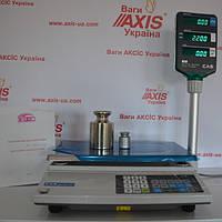 Весы магазинные AP-6M