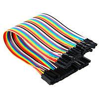Набор проводов для макетирования 40 штук 40PIN_F_F