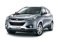 Защита заднего бампера Hyundai IX35 (2010+)
