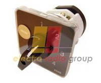 Перемикач пакетний типу ПкП Е9 25А/2,863(0-1-0-2-0-3 вибір фази)