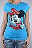 Футболка Minnie Mouse Голубая (арт. W864/21)