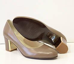 Туфли женские капучино Камея 6621, фото 3