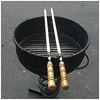 Шампура с деревянной ручкой 75 см