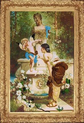 """Набор для вышивания бисером """"У фонтана"""", фото 2"""