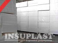Пенопласт белый (White) 10 кг/м3 Insuplast для Сип(Sip) панелей, EPS-10, ПСБ-С-25, 1200x2800мм