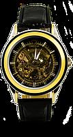 Мужские наручные часы omega gold, омега голд (реплика)