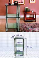 Стеклянный столик S1