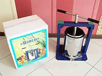 Ручной пресс для отжима сока Виллен (10 литров), соковыжималка   DI