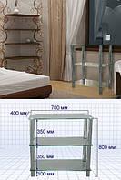 Стеклянный стол S13