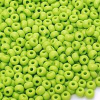 Бисер Preciosa Чехия №53310 1г, зеленый, натуральный