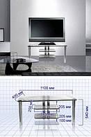 Журнальный столик-подставка под телевизор S23