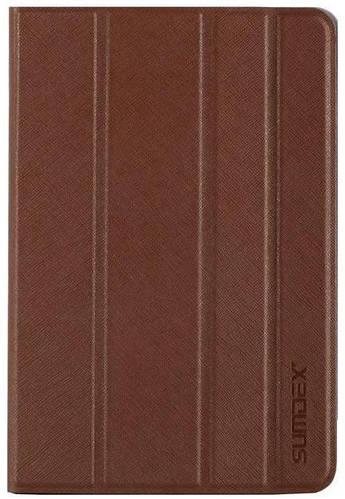 Красивый чехол для планшета с диагональю 7-7.8 SUMDEX, TCC-700BR коричневый