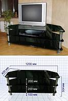 Стеклянная подставка-столик под аппаратуру S30