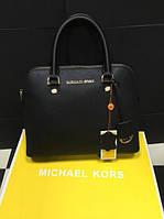 Черная кожаная сумка Michael Kors. Натуральная кожа.
