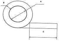 Профиль силиконовый Р-образный
