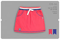 Летняя юбка для девочки р.104,122,128,140