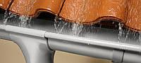 Водостік з оцинкованої листової сталі з полімерним покриттям